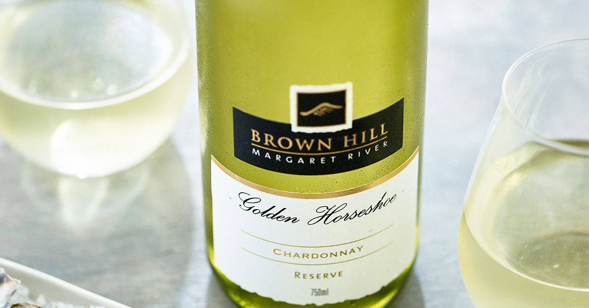 Brown hill estate our golden horseshoe chardonnay
