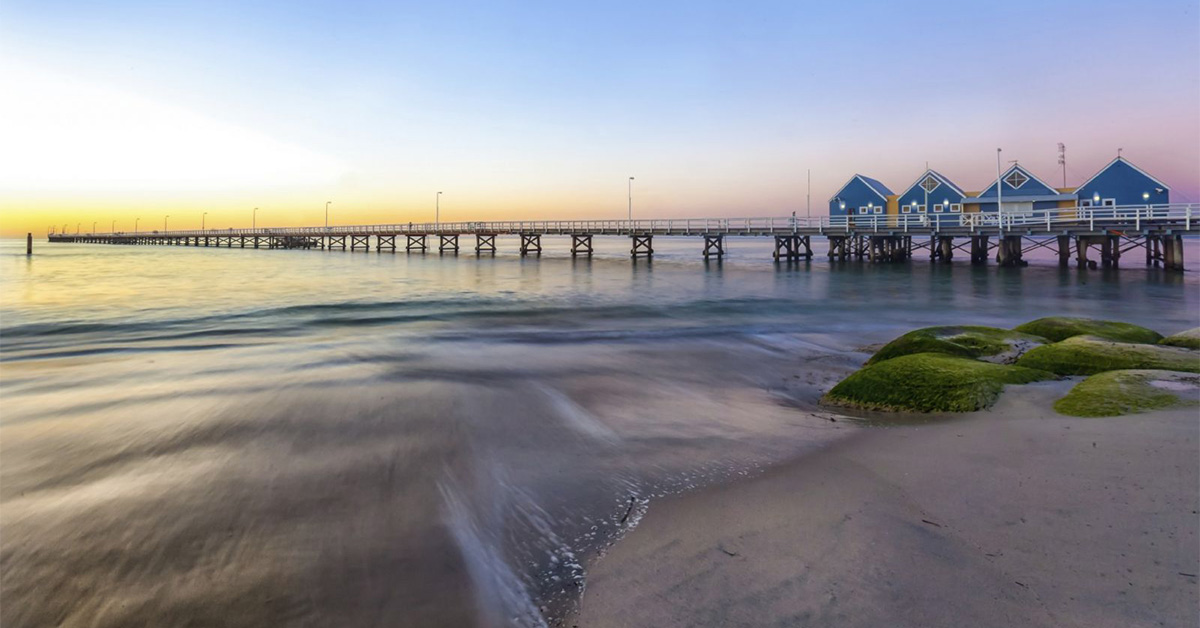 Best places to stop when travelling from Perth to Margaret